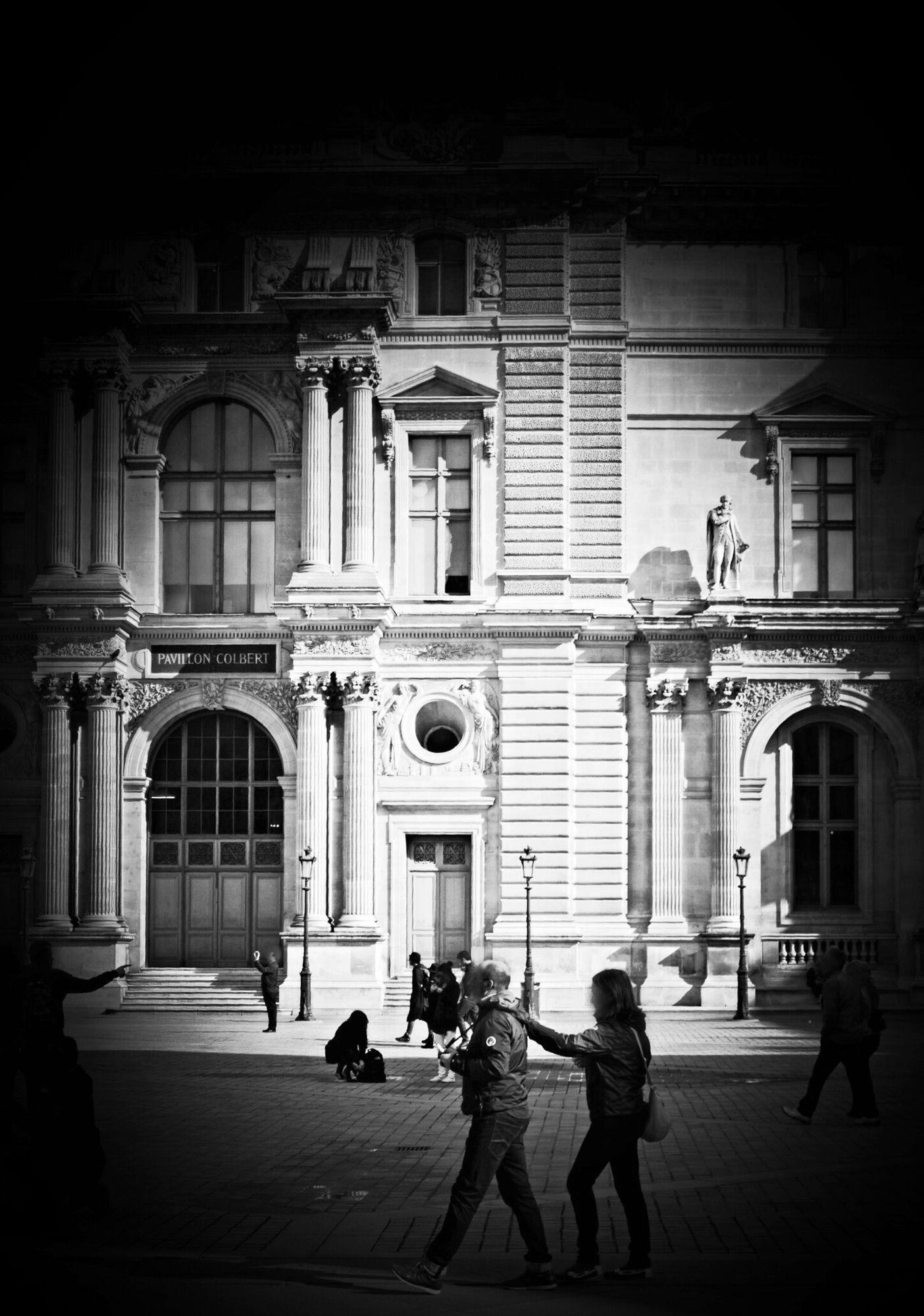 Louvre Museum -Pavillon Colbert