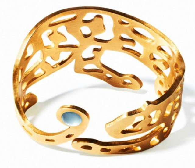 """Panther Bracelet by. Marc Alary. Discovered this jewelry designer through the show, """"The Fashion Fund."""" Amazing pieces!"""
