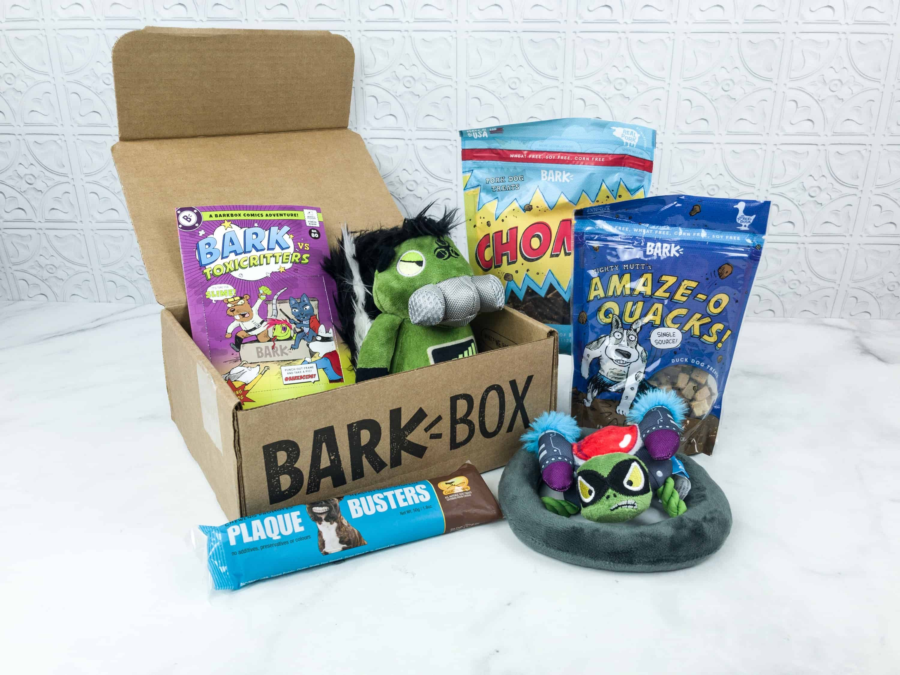 Barkbox Subscription Boxes Box Coupons