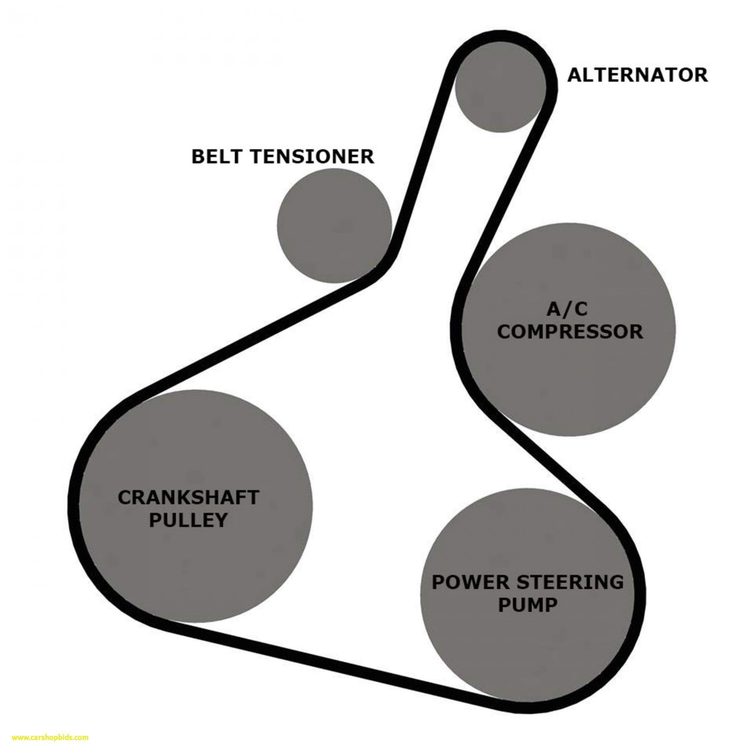 2009 Mitsubishi Lancer 2 0 Serpentine Belt Diagram In 2020 Alternator Diagram Vw Golf