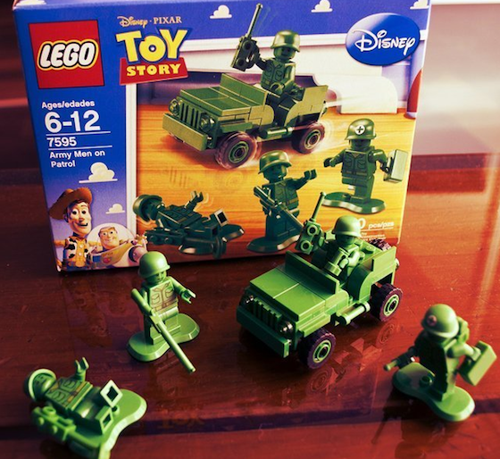 If you have a Lego fan you must get this deal! You can get Lego Toy Story Army Men for 8.95 shipped! (It's 24.95 on Amazon)