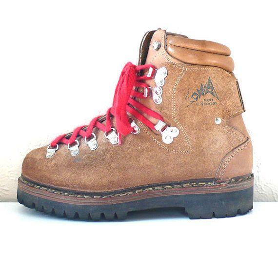 Vintage Lowa Alpine Hiking Boots // Size 3 1/2 Mens | Vintage ...