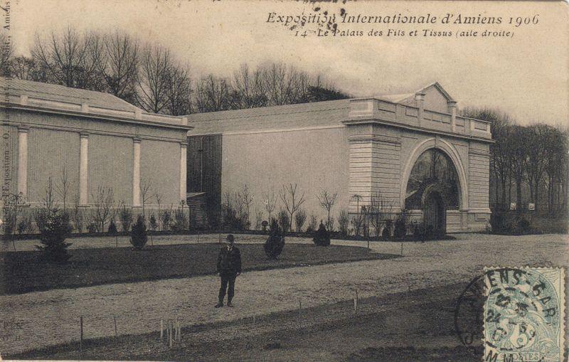 Exposition Internationale D Amiens 1906 Amiens Exposition Internationale