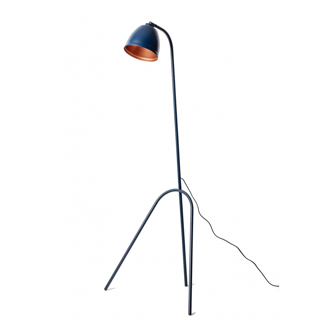 Loft Lampa Stojaca Podlogowa Genua Granatowa 148x35x16 Cm Tb373 Home Decor Decor Lamp