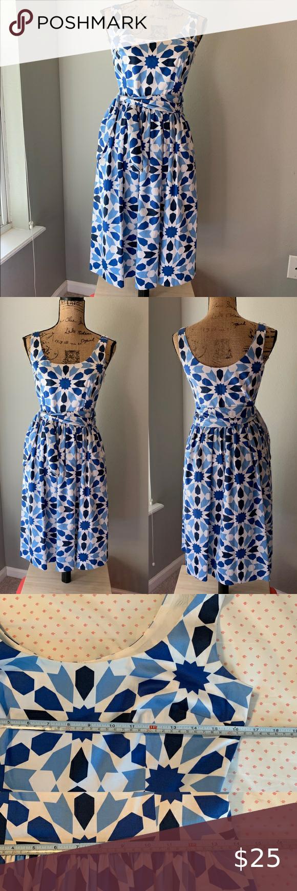 Maggy London sz 4 kaleidoscope print dress