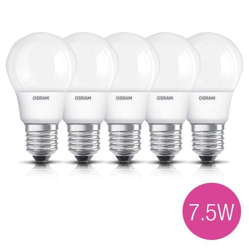 Jual 5 Lampu Bohlam Led Osram 7 5 Watt Pengganti Bohlam Pijar 60