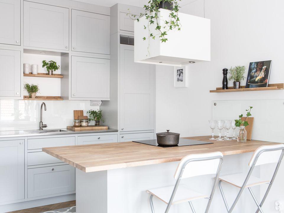 Un 40m A Goteborg Amenagement Petit Appartement Amenagement Petit Salon Et Amenagement Cuisine Ouverte