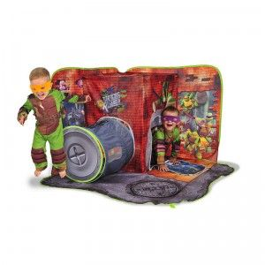 Kids can play out Teenage Mutant Ninja Turtles adventures in their very own Turtles-themed play tent.  sc 1 st  Pinterest & Teenage Mutant Ninja Turtles 3D Pop Up Sewerscape | New Toys for ...
