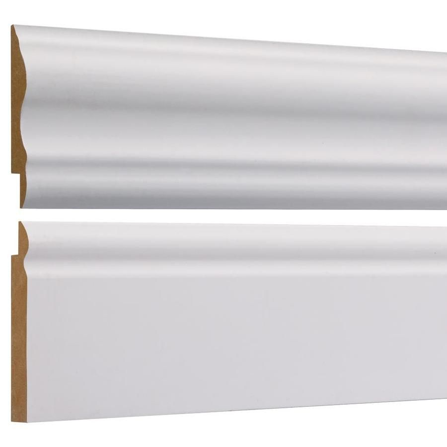 Empire Company 2 625 In X 8 Ft Primed Base And Chair Rail Kit Wall