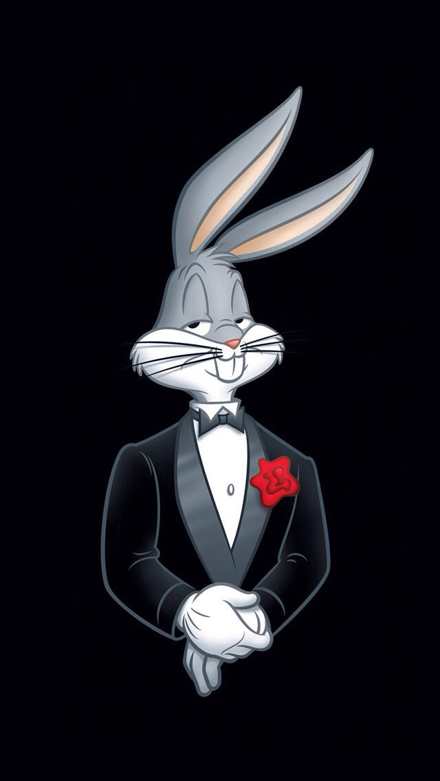 iOS Wallpaper iPhone Çizimler, Eskiz, Bugs bunny