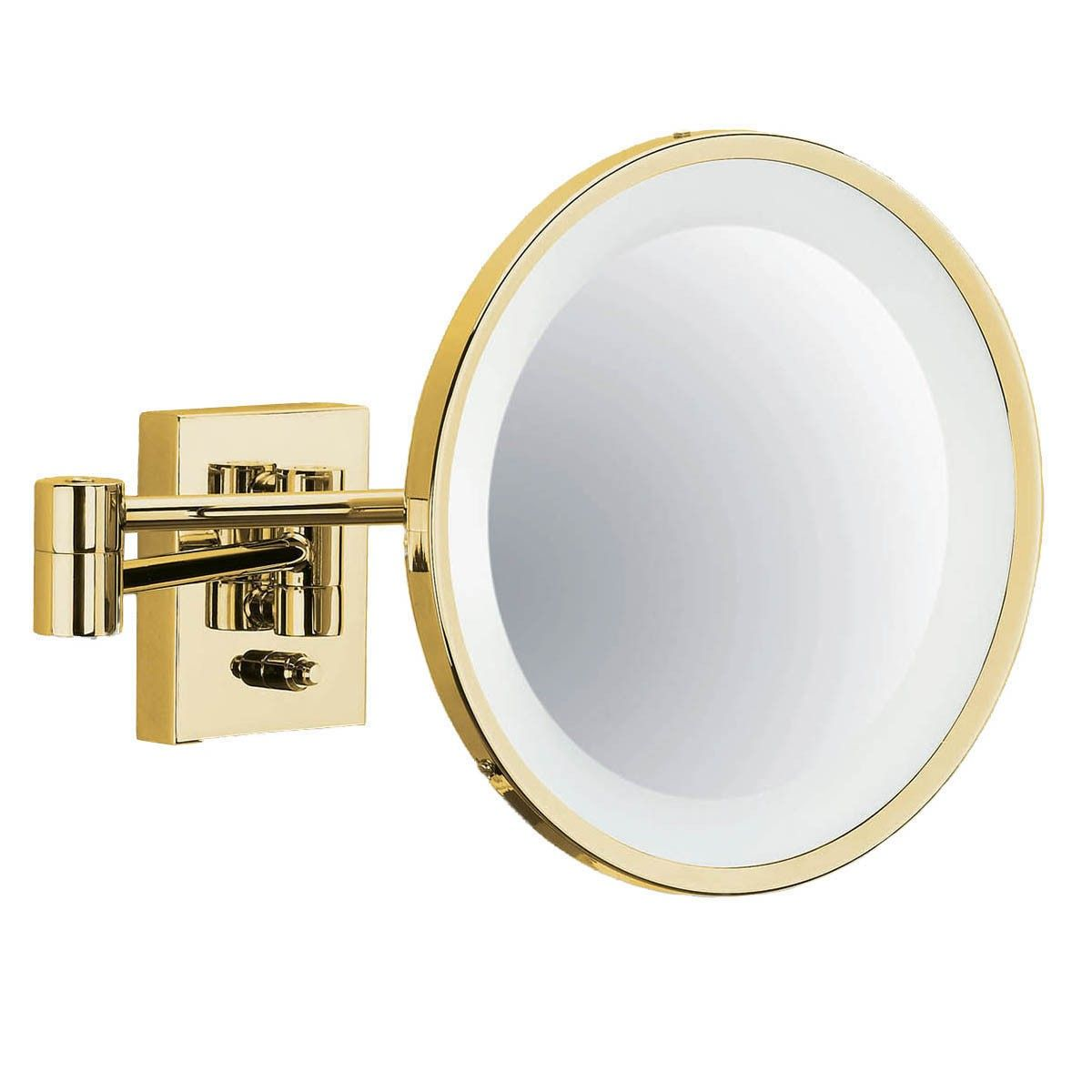 Smile 704 Gold Illuminated Magnifying Mirror From the Smile ...