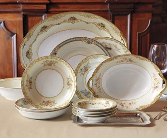 Nonna S Vintage China Dinnerware Tabletop Napastyle Www