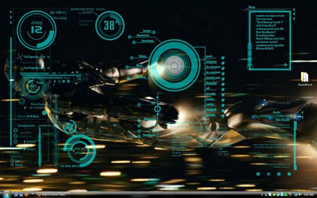 Pin by Rose Milton on Futuristic UI Screens | Iron man wallpaper