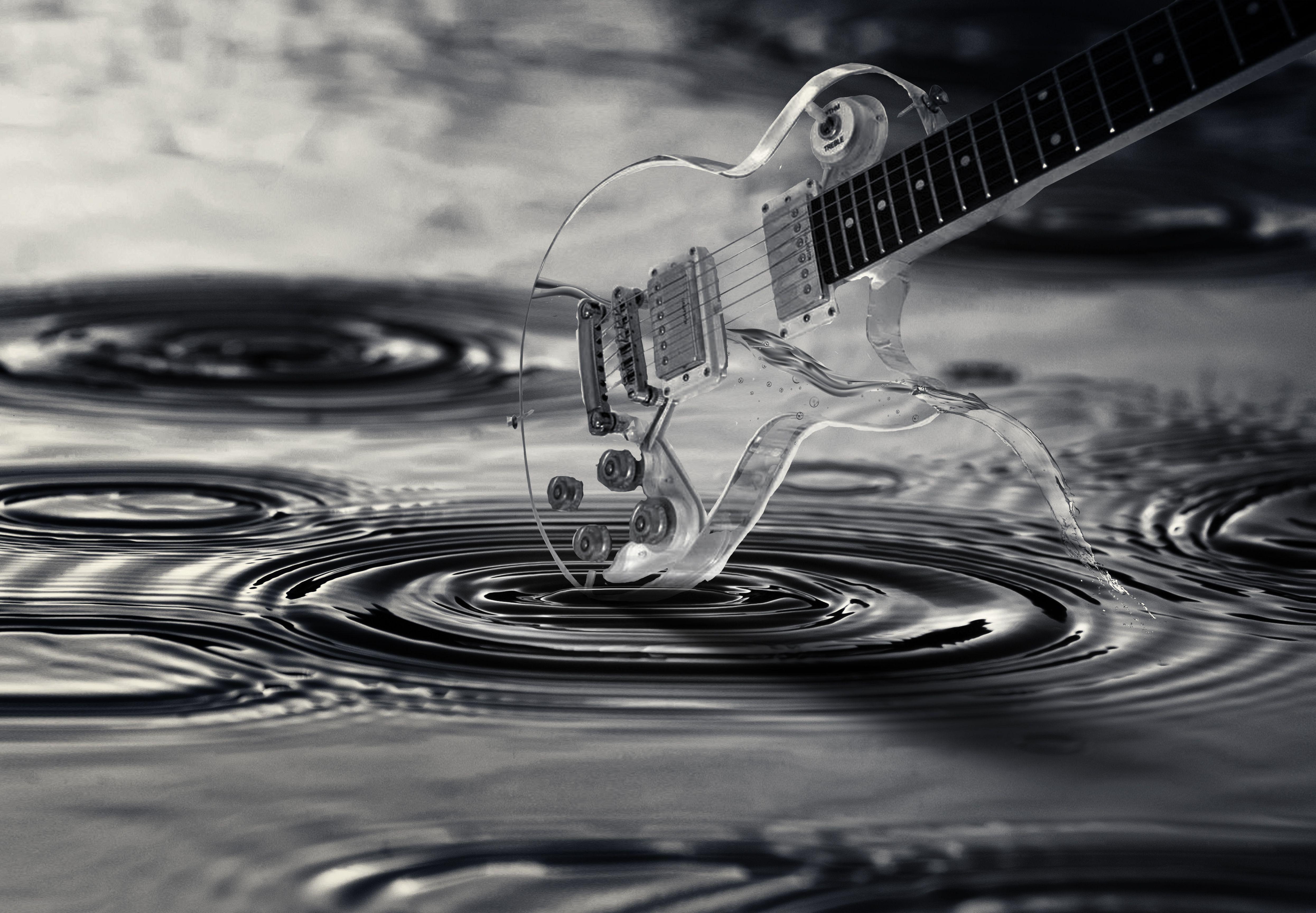 High Resolution Wallpaper Guitar Wallpaper Backgrounds Music Wallpaper Background Images