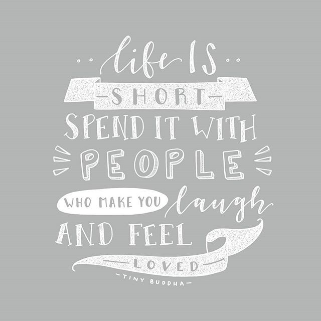 Friends That Are Users Quotes: Treasure Every Minute. #peopleyoulove #handlettering