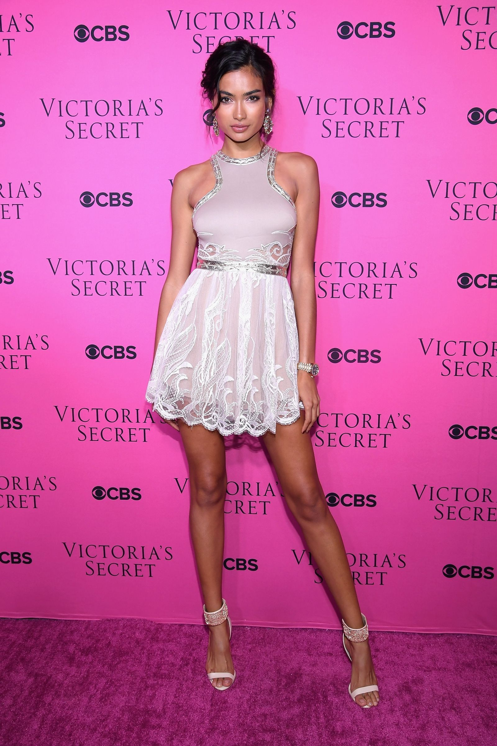 What the Victoria Secret Angels Wore to the Fashion Show Viewing Party