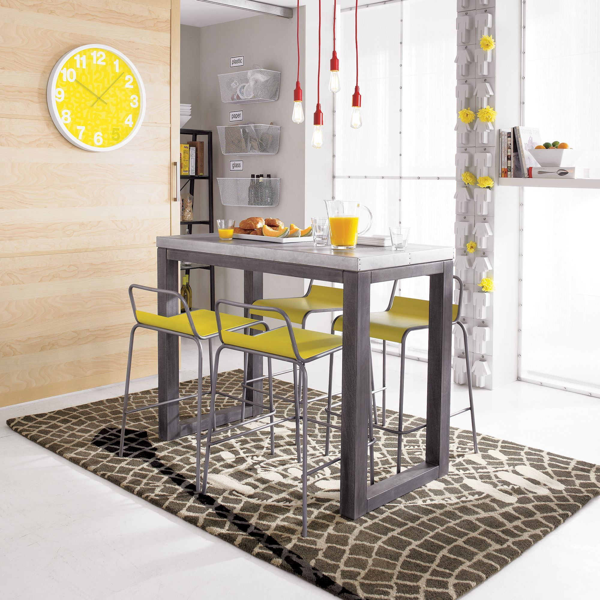Stern 37 High Counter Table Modern Dining Table Counter Table Cheap Dining Room Sets