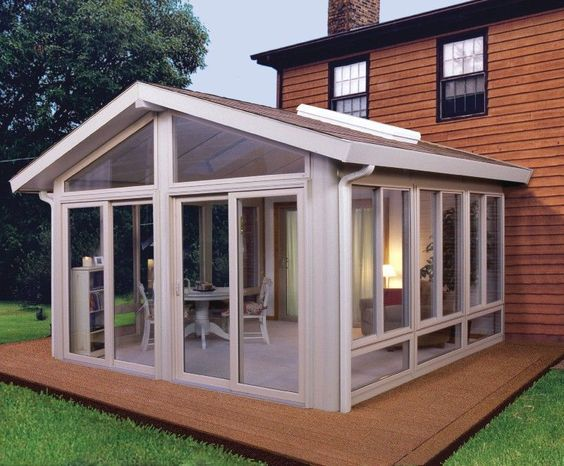 How Much Does A Covered Patio Cost? | Patio Enclosures, Glass Room And  Wicker Patio Furniture