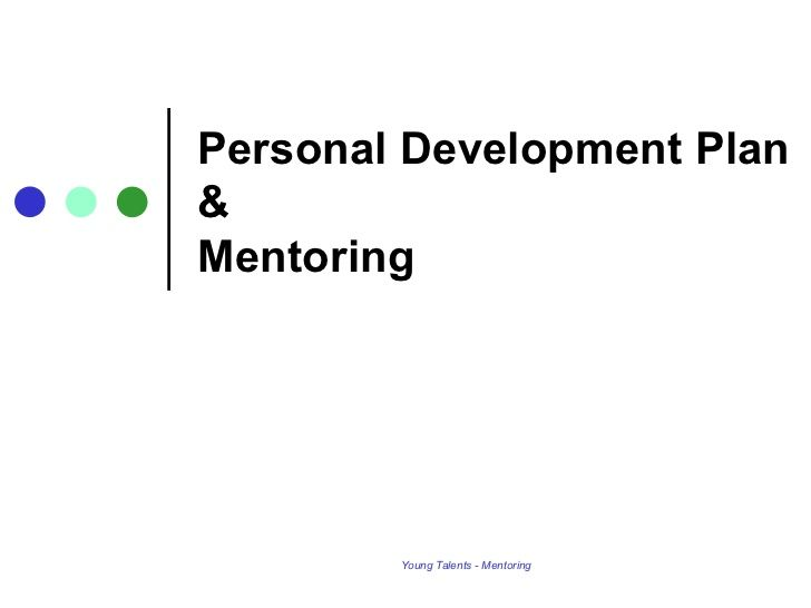Template for the Ideal Personal Development Plan Health - development plan template