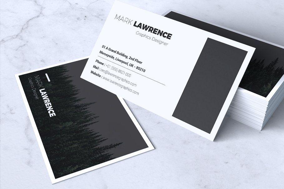 Minimalist Business Card Vol 03 A Beautiful Multipurpose Business Card Template Perfect F Modern Business Cards Calling Card Design Business Card Minimalist