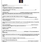 Goes with Jeanne d'Arc Powerpoint. 20 questions based on the Powerpoint and 10 pictures to match up with the sentences describing Jeanne d'Arc's li...