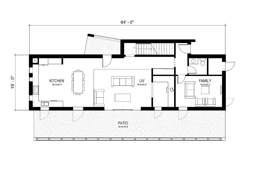 Free Small Affordable House Plans. #houseplan