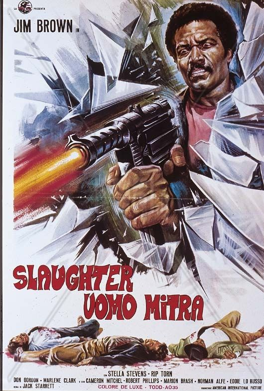 Jim Brown Slaughter >> Slaughter 1972 Jim Brown Stella Stevens Rip Torn