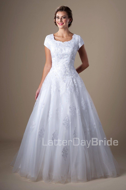 Plus Size Modest Wedding Dresses Utah – DACC