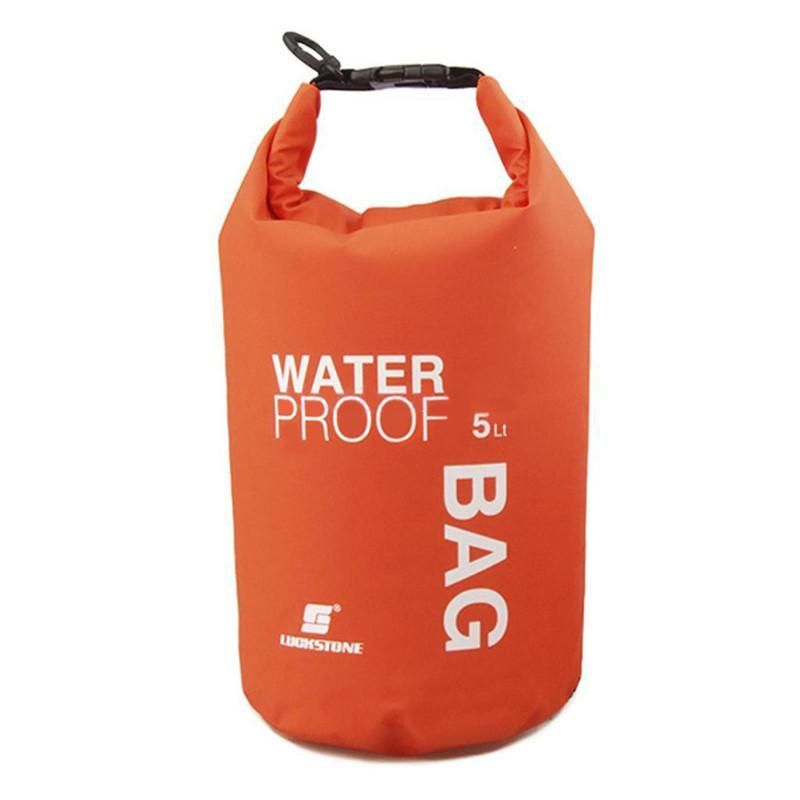 5 x Outdoor Dry Bags Pouch Rafting Boating Camping Waterproof Phone Camera Sack