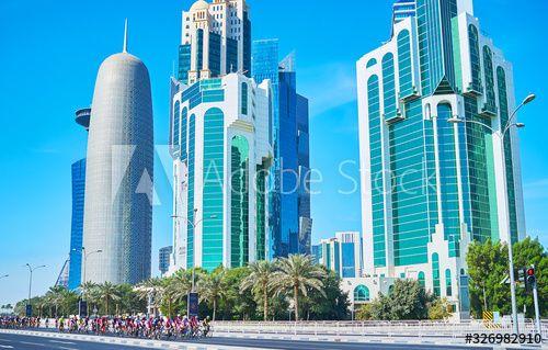 Cycle race, on Feb 13, 2018 in Doha, Qatar , #Ad, #Feb, #race, #Cycle, #Qatar, #Doha #Ad