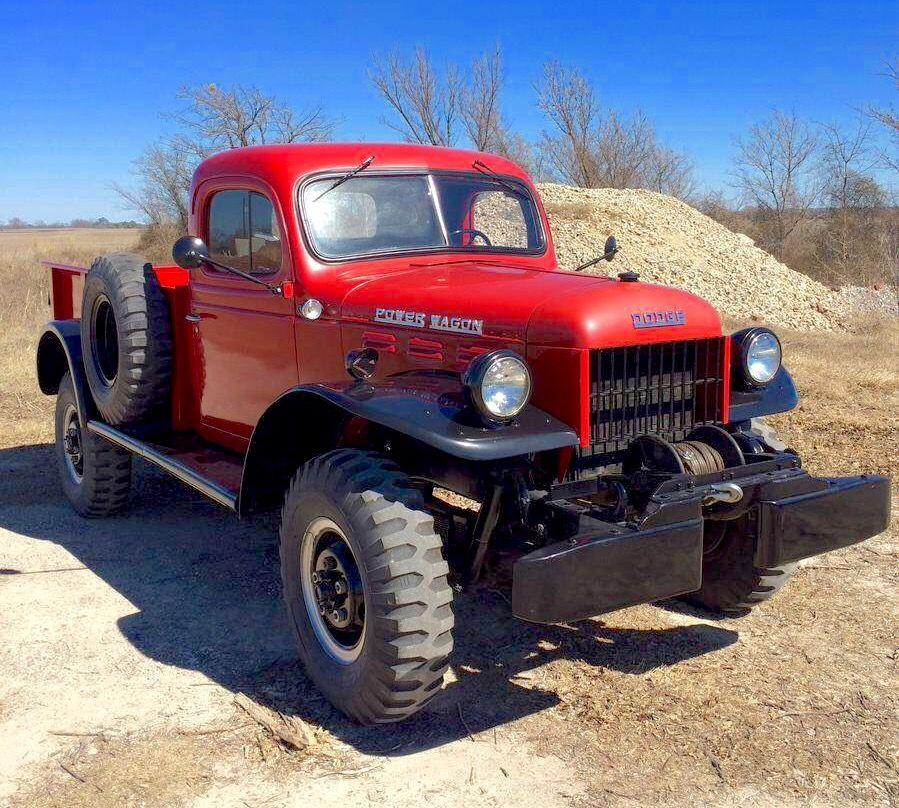 50 Dodge Power Wagon Hemmings Dodge Power Wagon Power Wagon Old Dodge Trucks