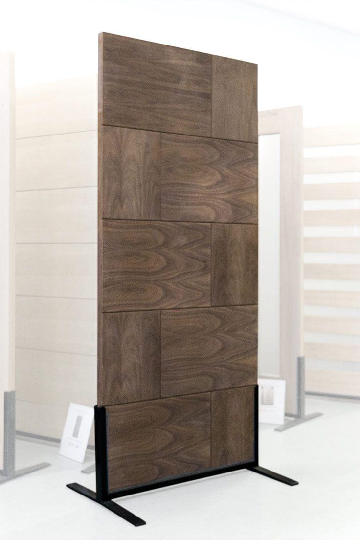 Contemporary 10 Panel Walnut Exterior Doors Doors Paneling