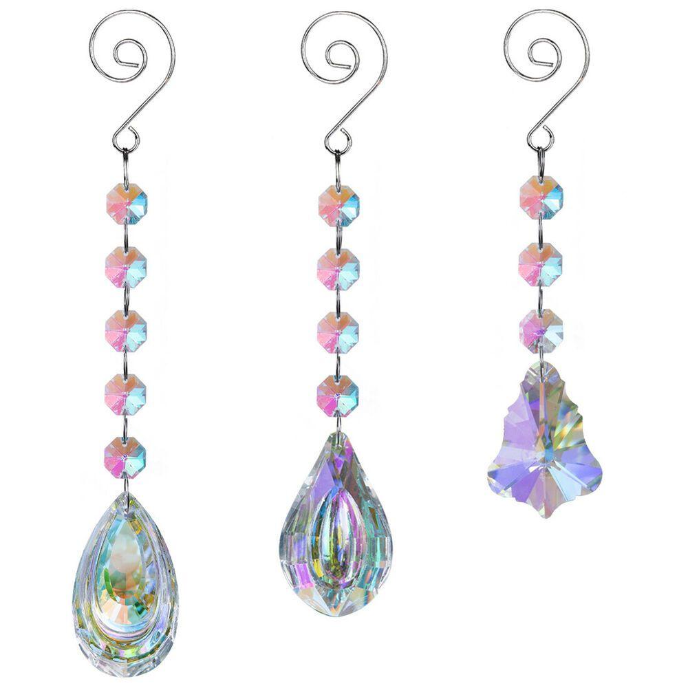 Acrylic Chandelier Pendants 50 Premium 30mm Clear Hanging Crystals