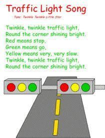 Milk Carton Traffic Light