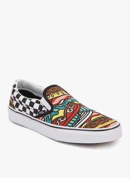 7e8932cec0776 Buy Vans Classic Slip-On Multicoloured Sneakers for Men Online India ...