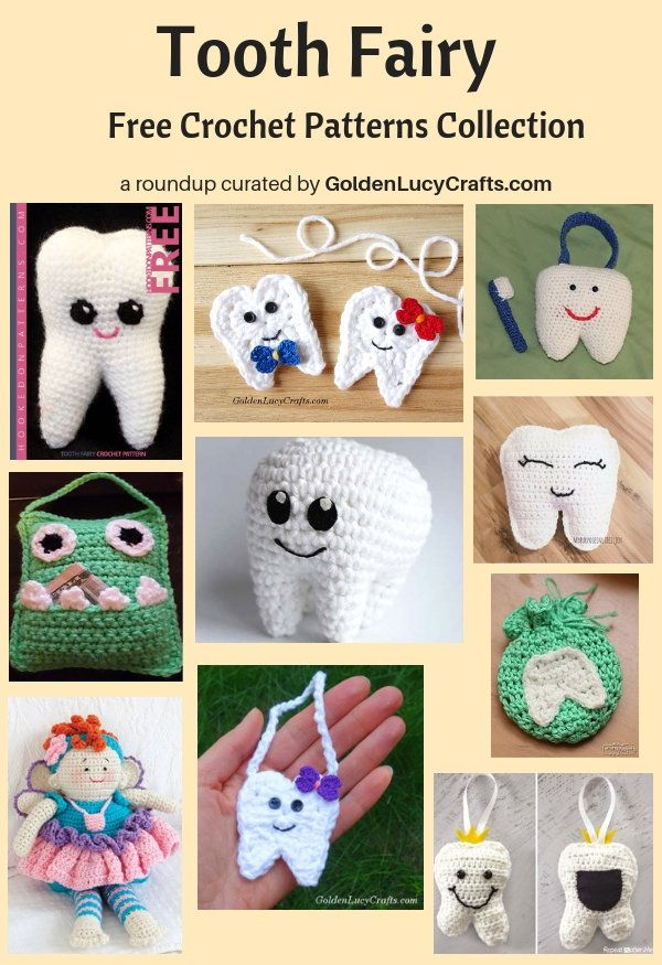 Crochet Tooth Fairy Free Crochet Patterns Collection