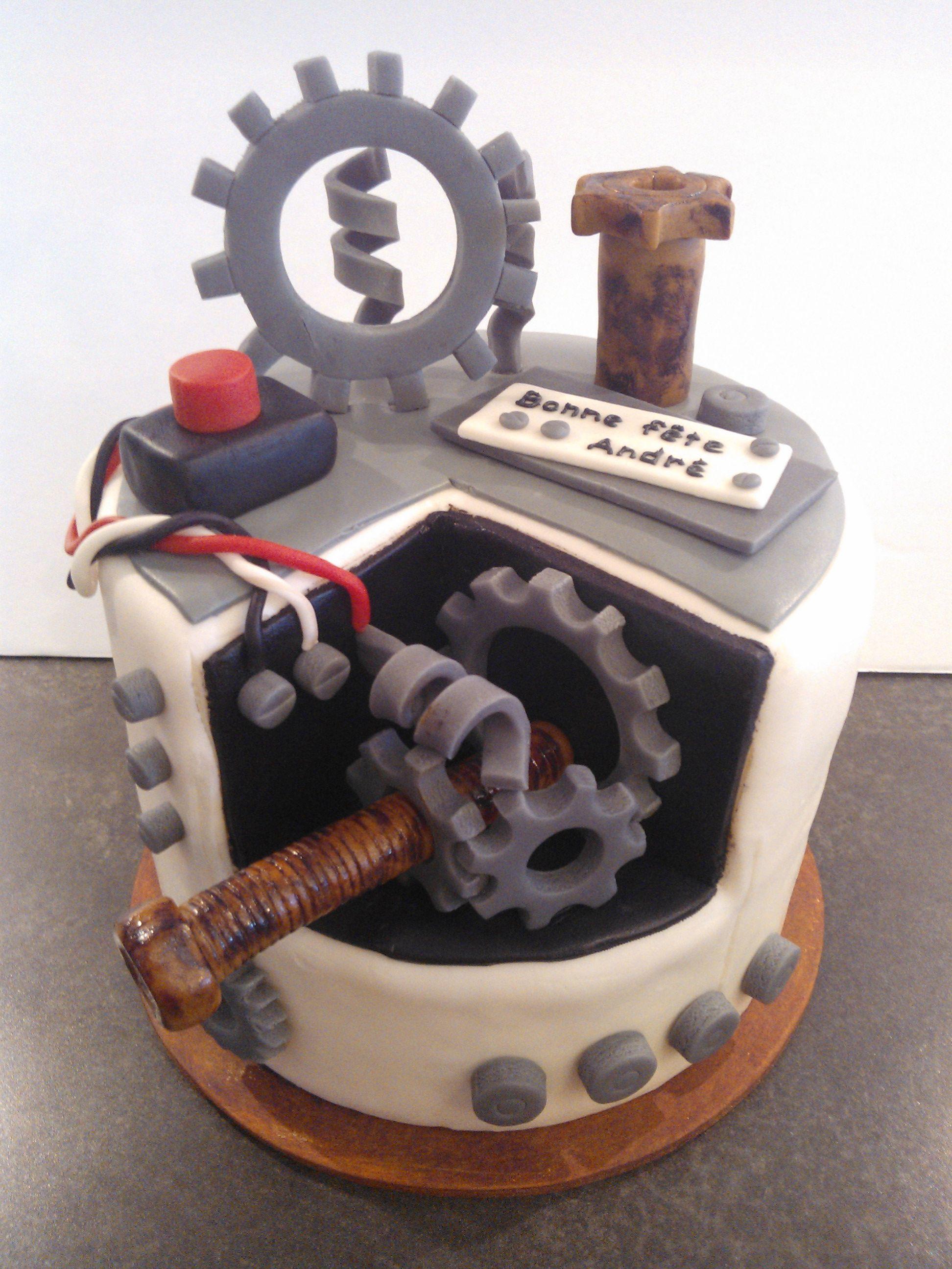Engineer Cake G 226 Teau Ing 233 Nieur For Dr Engineering