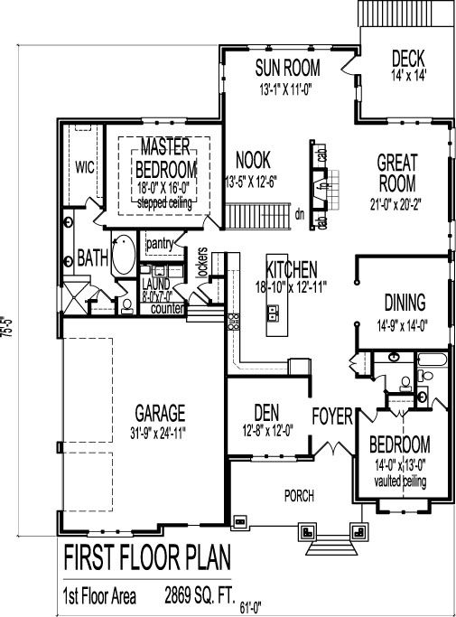 Pin By Jessica Fulmer On Home Ideas Bungalow House Floor Plans Bedroom House Plans House Plans