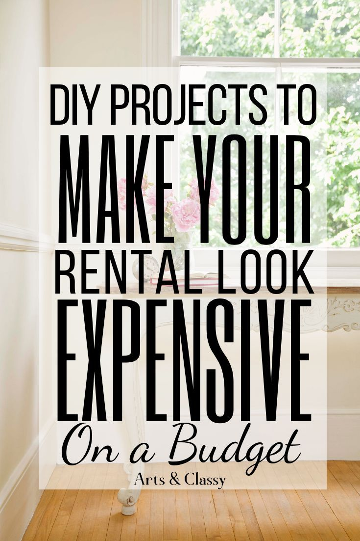 Check Out These 15 Creative Diy Projects That Fit A Small Budget To Help Make Your Apartment