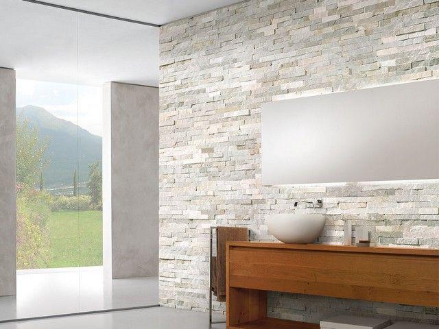 Pietra bagno ~ Rivestimento in pietra naturale natstone grey sala