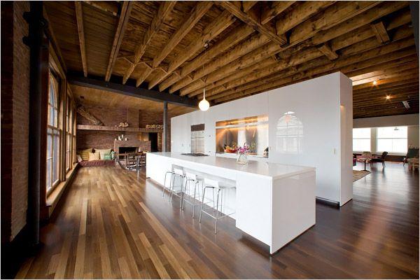 Hermoso departamento en New York, un departamento de lujo Tikinti - diseo de interiores de departamentos