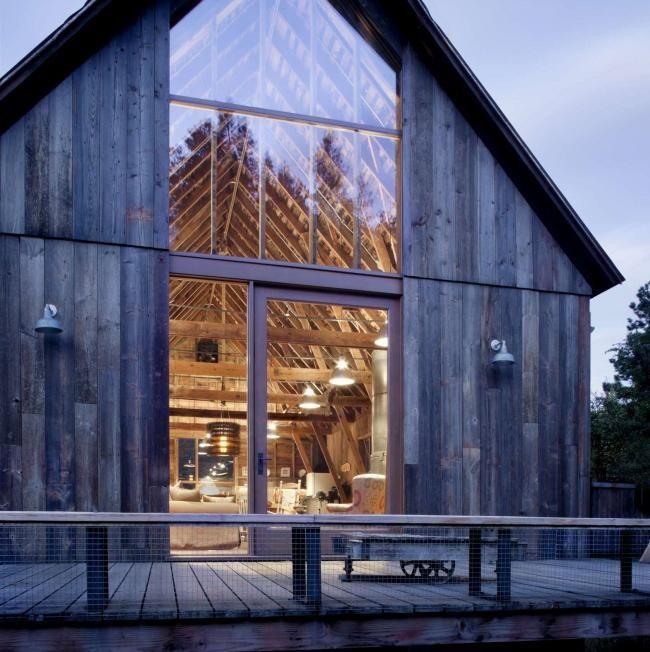 Restauration d\u0027une grange rurale en maison de vacances aux USA - Construire Une Maison De 200m2