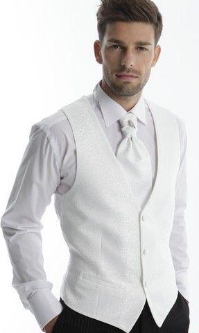 super quality sells best price Costume ADIMO model JACOB - Gilet blanc | Costumes en 2019 ...