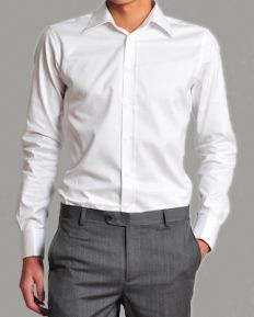CH0035WHT Dress Shirts