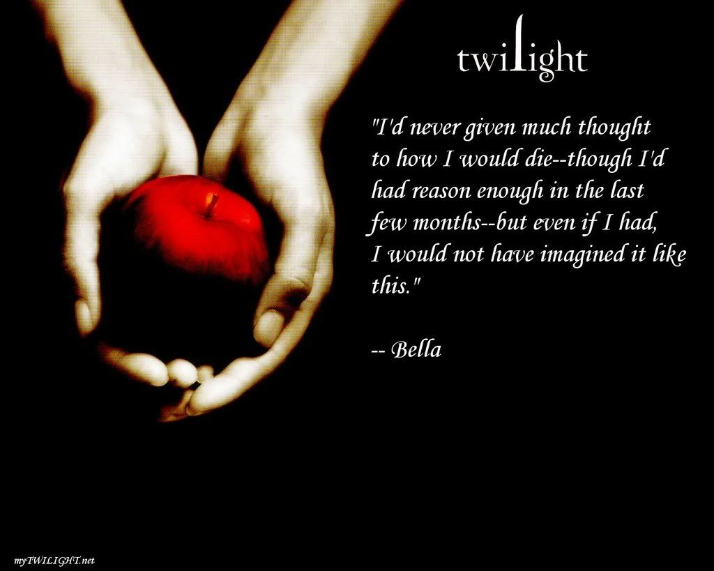 Image detail for twilight quote picture by twilght4ever photobucket