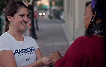 Runner Steps Up for Kindness
