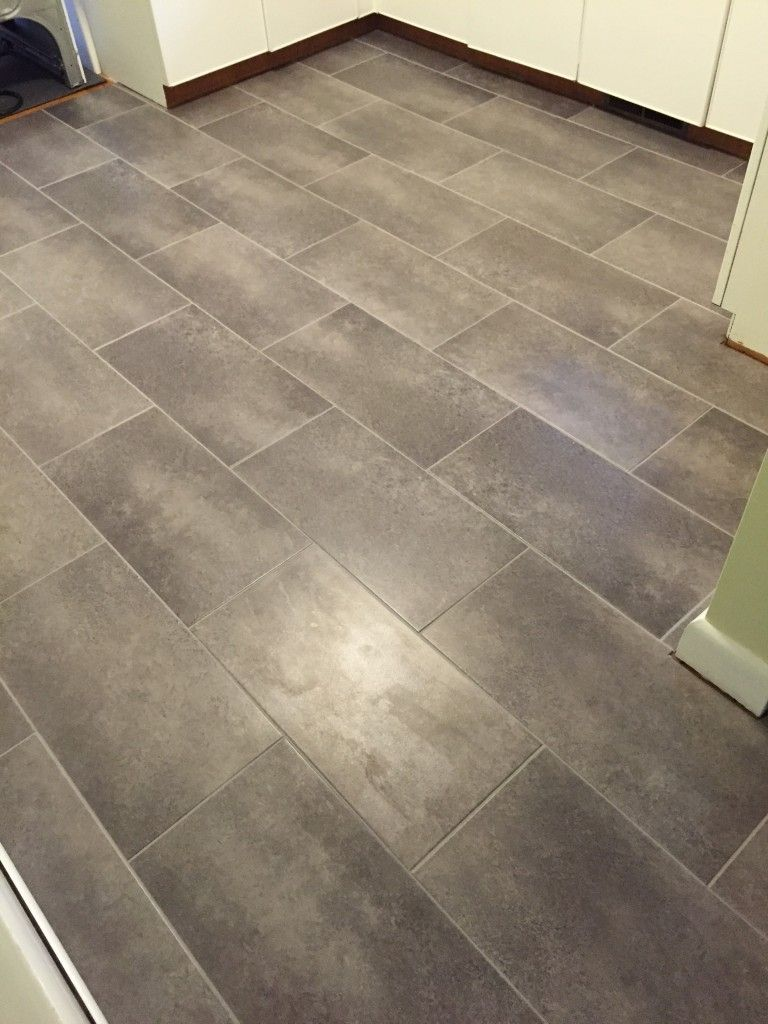 laying vinyl tile flooring with grout
