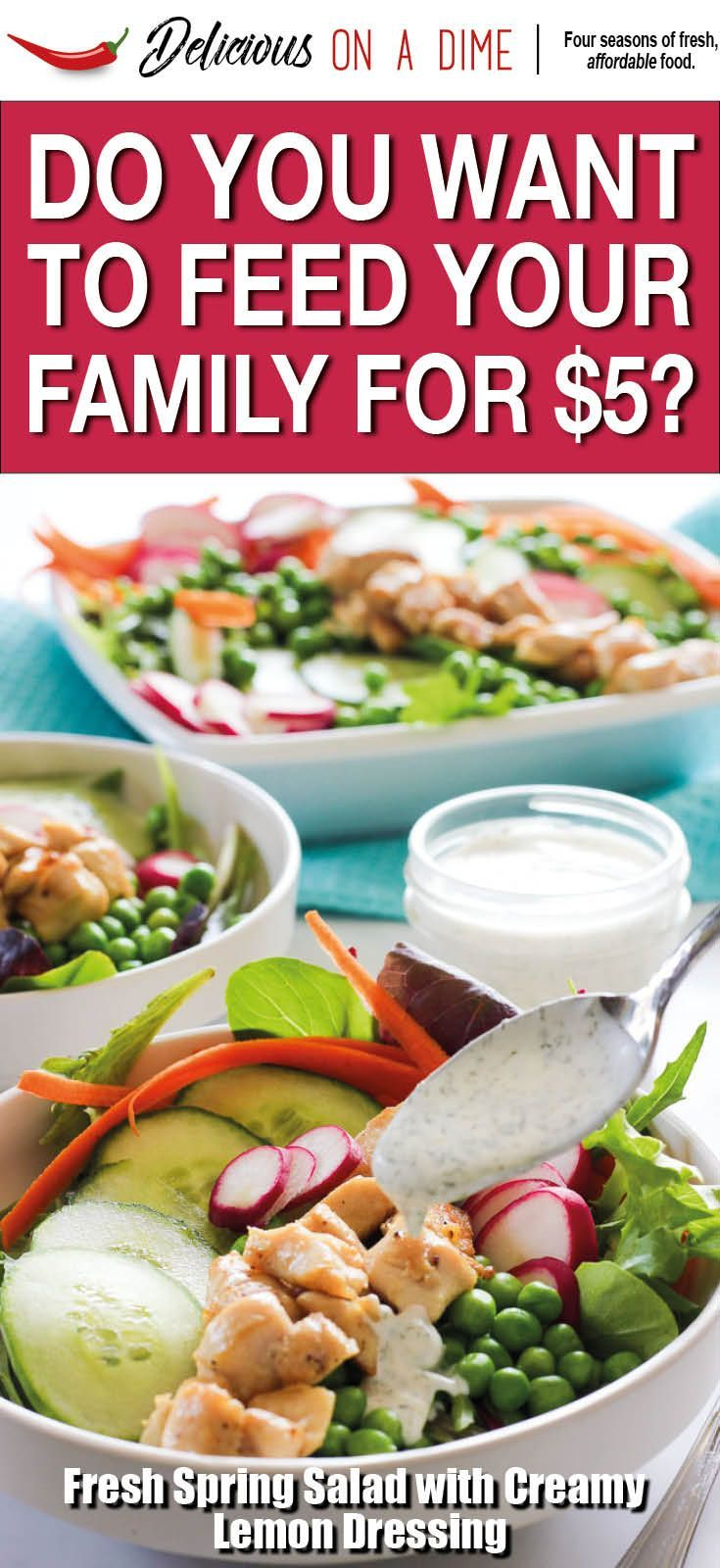 Five 5 meals for spring delicious food meals and easy forumfinder Image collections
