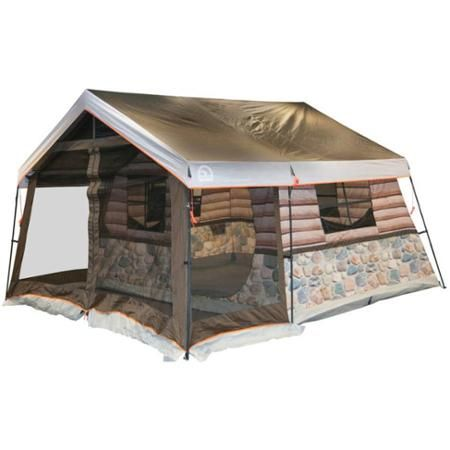 Igloo Log Cabin 8-Person Tent - Walmart.com  sc 1 st  Pinterest & Igloo Log Cabin 8-Person Tent - Walmart.com | Tent that I like ...