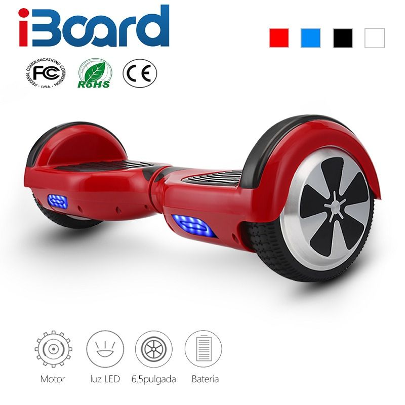 9 Colors 6 5 Inch Hoverboard Two Wheels Self Balance Scooter Hover